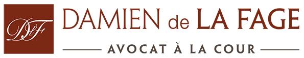 LOGO Damien de la Fage - Avocat à Toulouse